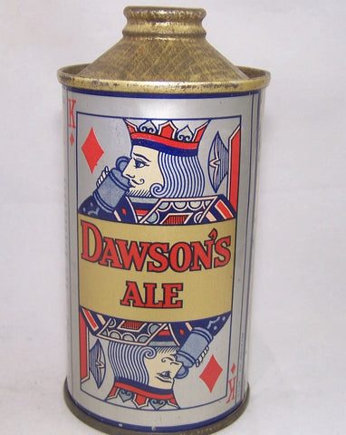 Dawson's Ale (Playing Card) USBC 155-23, Grade 1 Sold 2/3/17