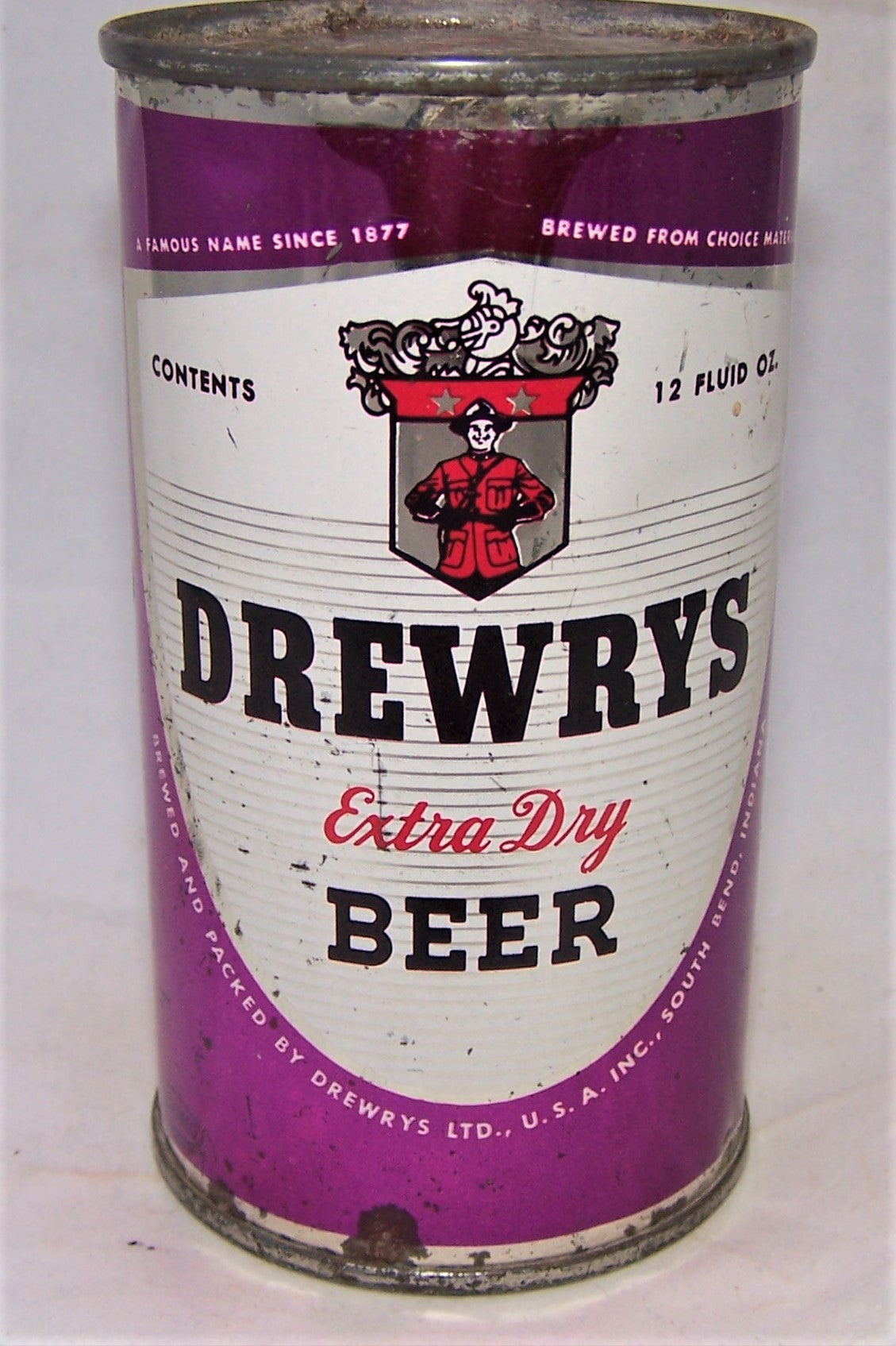 Drewrys Extra Dry (Your Character) USBC 57-01, Grade 1-