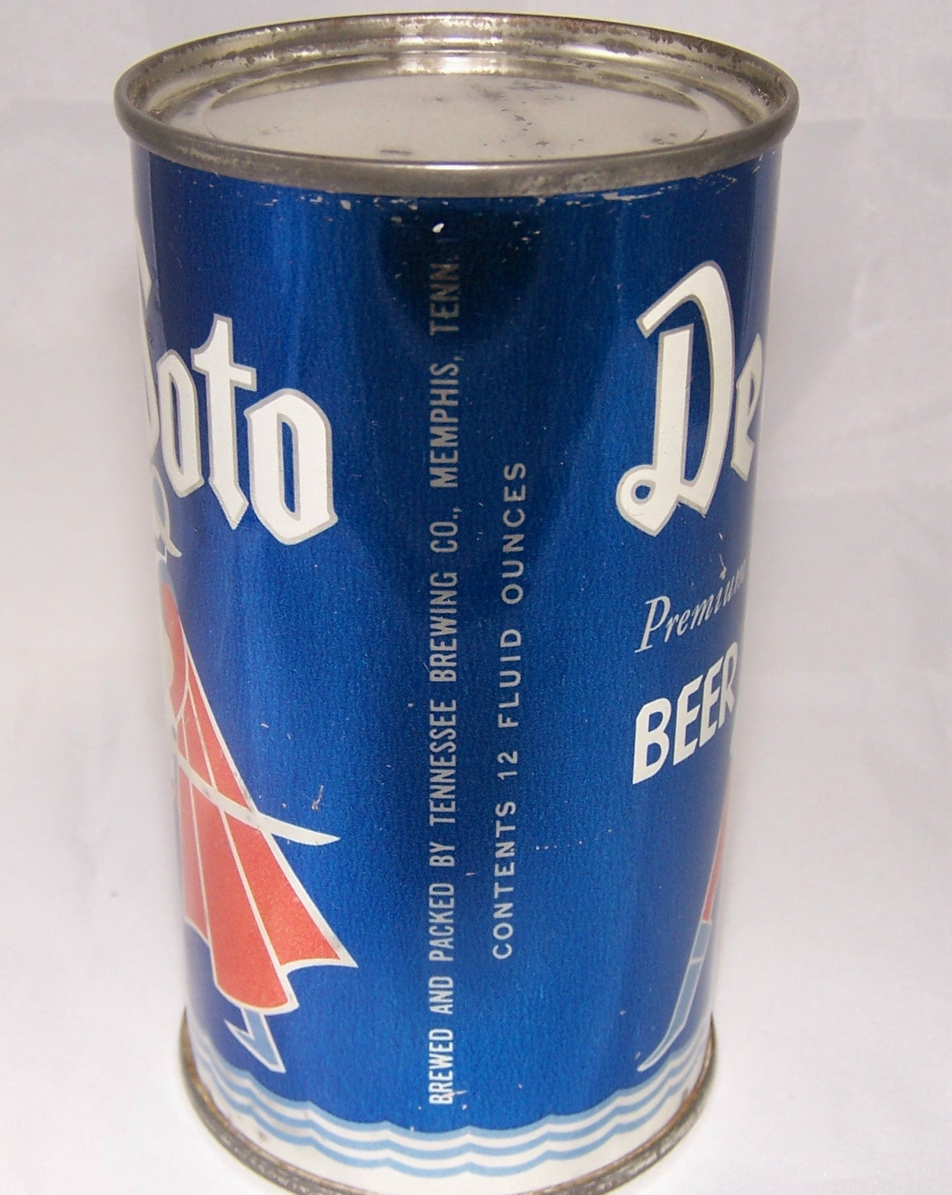 De Soto Premium Beer, USBC 53-28, Grade 1 to 1/1+ Sold on 5/14/15