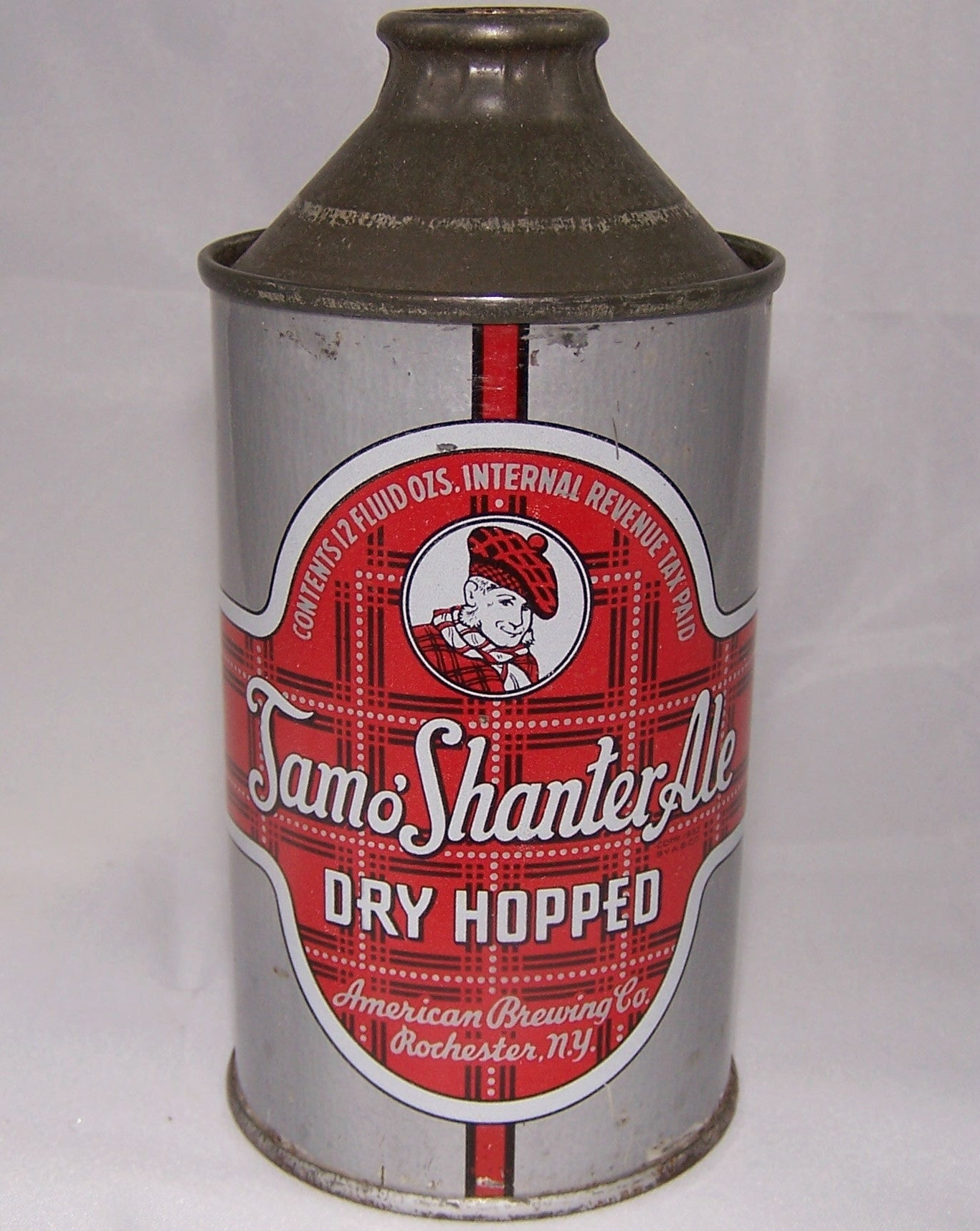 Tamo' Shanter Ale, USBC 186-26, Flat Bottom, Grade 1- Sold 8/11/15