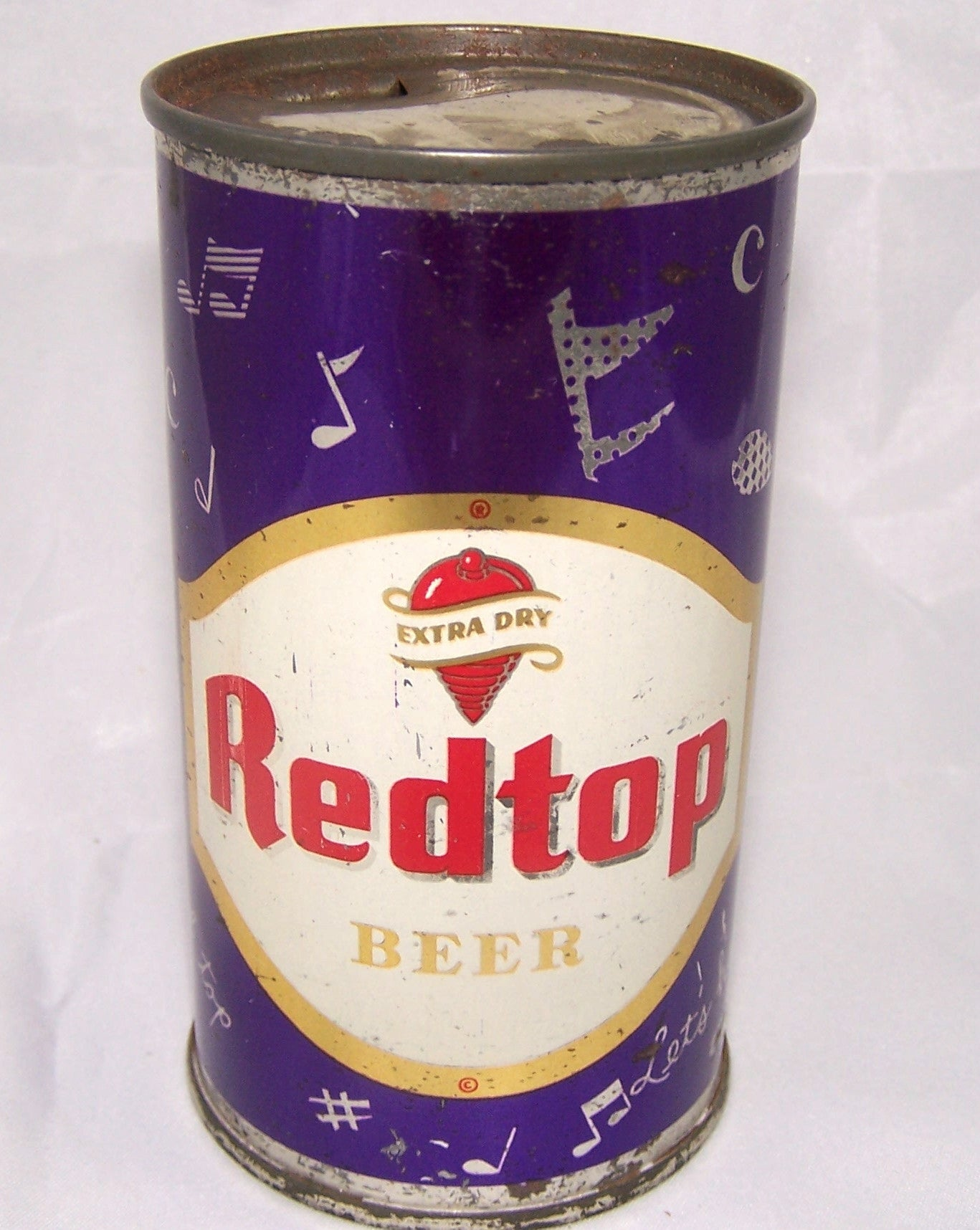 Red Top Beer (Musical Notes) USBC 120-11 Grade 1/1- Traded 7/11/15