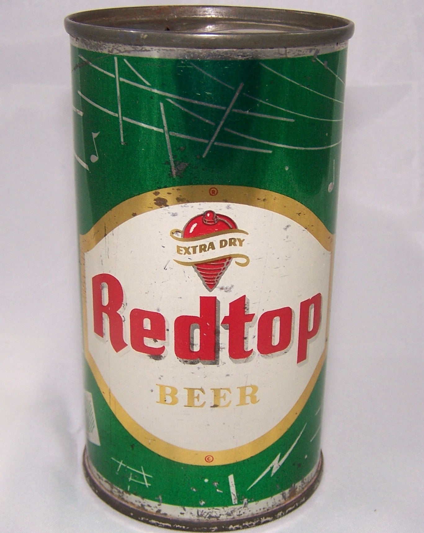 Red Top Beer (Radio) Green, USBC 120-14, Grade 1/1- Traded 7/11/15