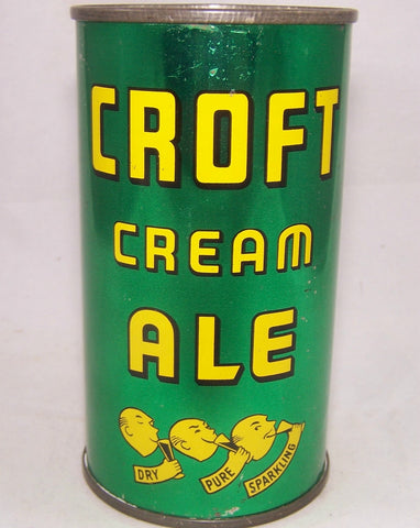 Croft Cream Ale (Four Products) USBC 52-23, Grade 1 or better in hand