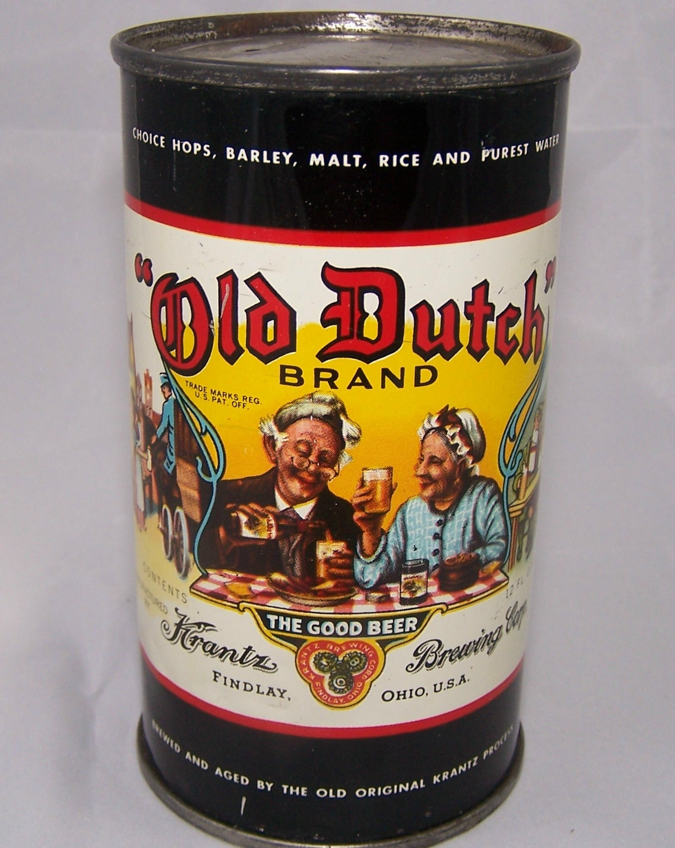 Old Dutch Brand Beer, USBC 106-4, Grade 1/1+ Sold on 12/15/15