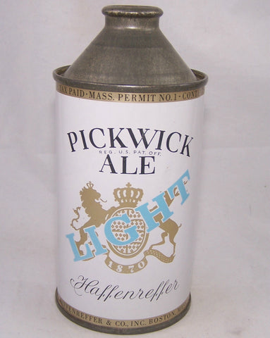 Pickwick Light Ale, USBC 179-07, Grade 1