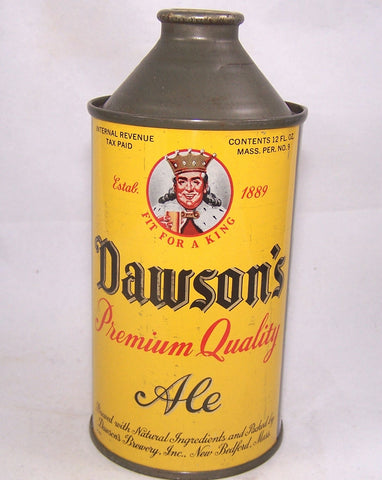 Dawson's Premium Quality Ale, USBC 159-02, Grade 1/1- Sold on 01/17/17