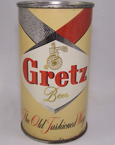 "Gretz Beer ""Made The Old Fashion Way"" USBC 74-36, Grade 1 to 1/1+"