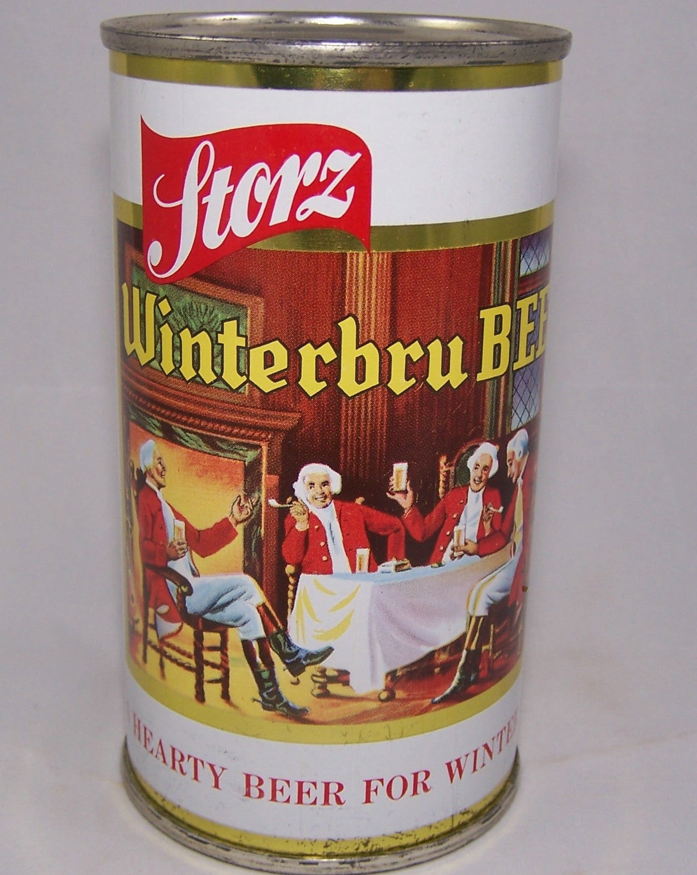 Storz Winterbru Beer USBC 137-14, Rolled Can, Grade 1/1+ Sold 9/2/15