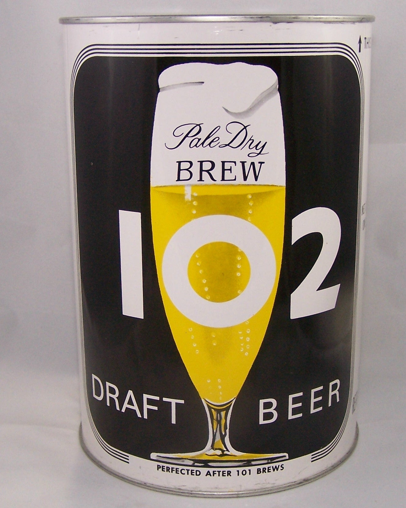 Brew 102 Draft Beer, USBC 244-5 Grade A1+ Sold on 03/17/16