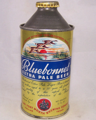 Bluebonnet Extra Pale Beer, USBC 153-32, Grade 1/1+ Sold on 02/11/17