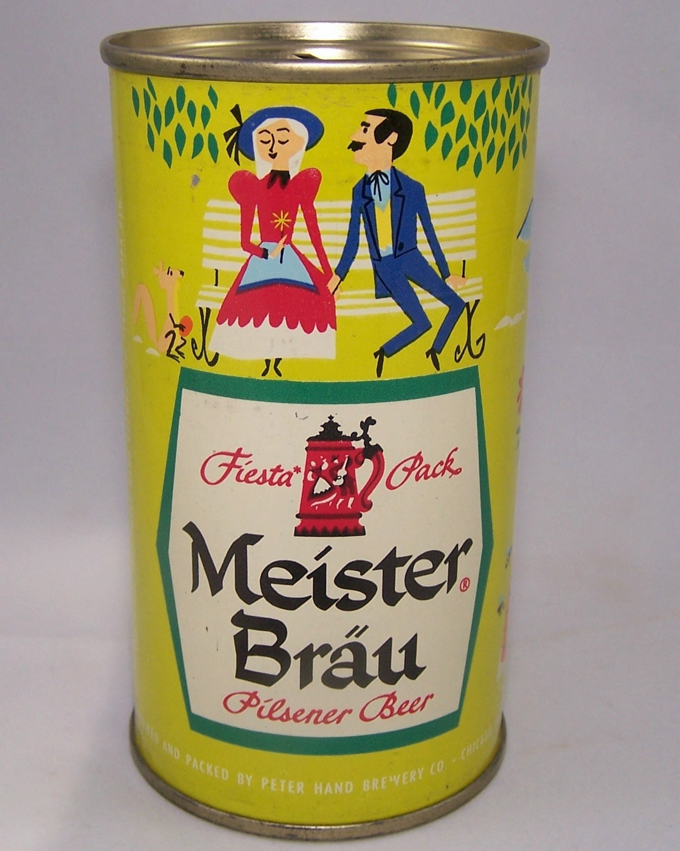 Meister Brau Fiesta Pack, USBC 98-7, Grade A1+ Sold on 9/10/15