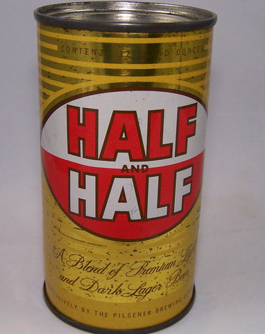 Half and Half Dark lager beer, USBC 78-38, Grade 1