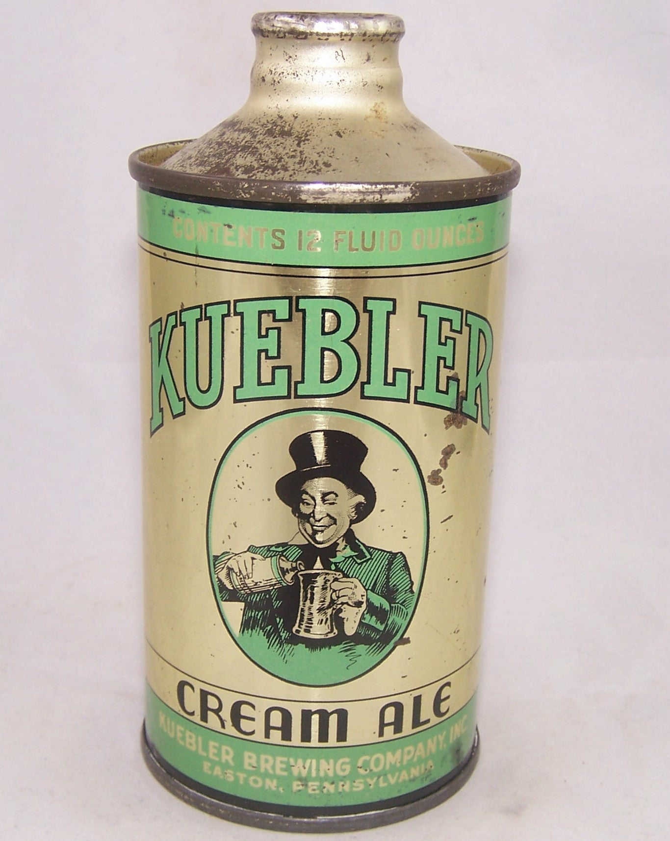 Kuebler Cream Ale, USBC 172-14, Grade 1/1- Sold on 03/05/17