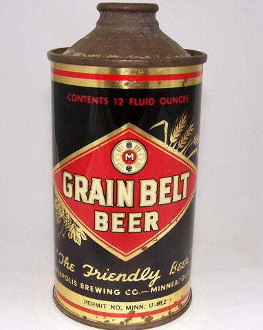 Grain Belt Beer DNCMT 4%, USBC 166-31, Grade 1/1-