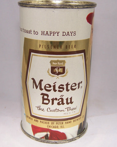 Meister Brau Happy Days The Custom Brew, (Skiing) USBC 98-23, Grade A1+ sold on 9/10/15