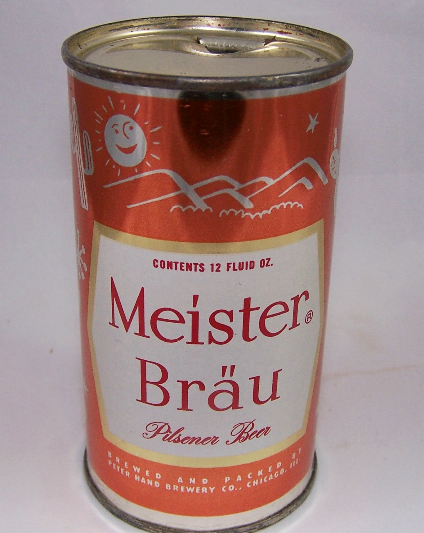Meister Brau Pilsener Beer, (Ranch) USBC 95-36, Grade 1/1+ Sold on 9/14/15