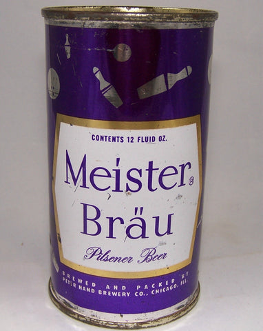 Meister Brau Pilsener Beer (Bowling) USBC 95-27, Grade 1- Sold on 06/8/17