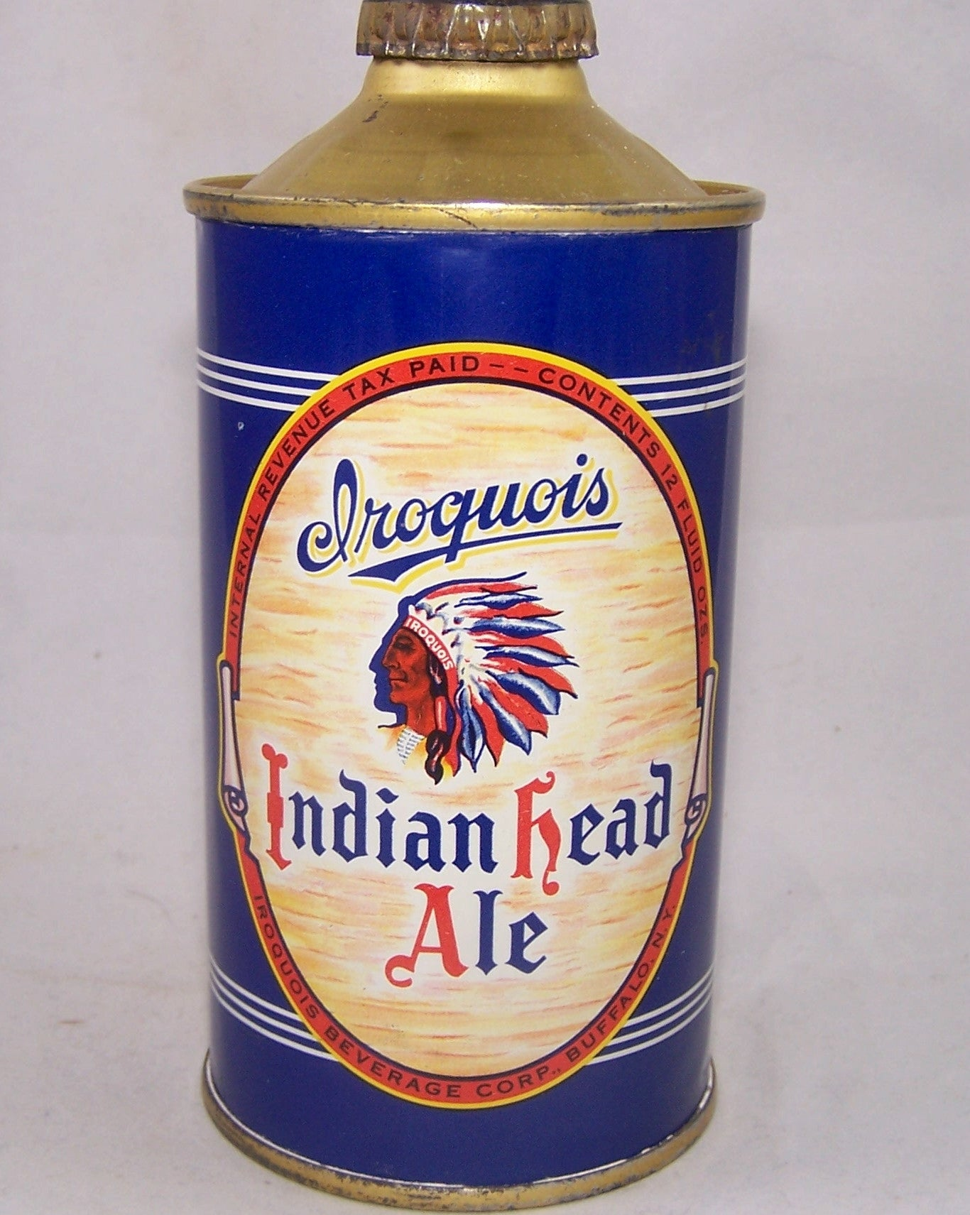 Iroquois Indian Head Ale, USBC 170-06, Grade A1+ Sold on 03/15/17