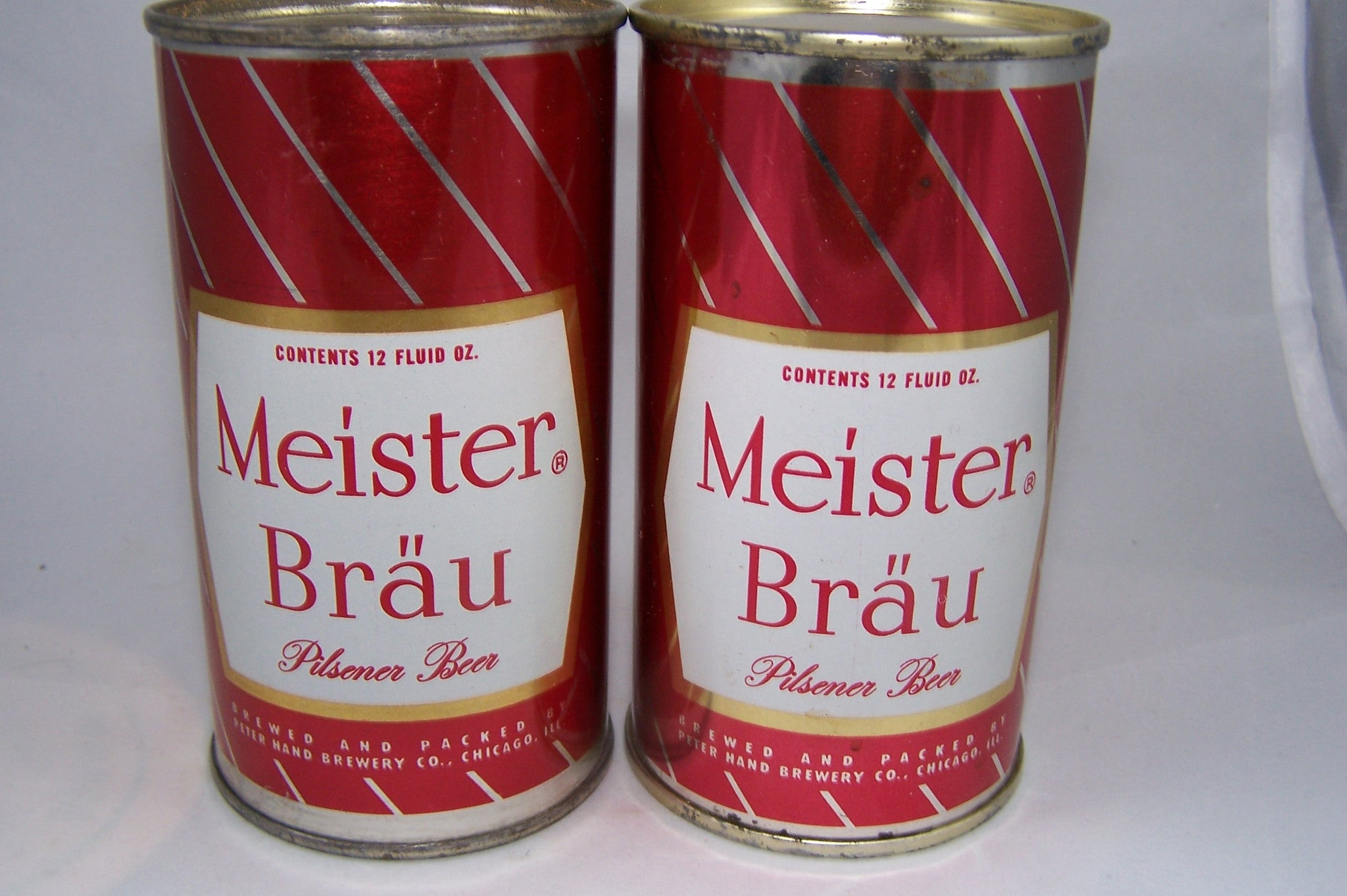 Meister Brau Pilsener Beer, (enamel) USBC N.L Grade 1/1+ Traded on 10/03/15