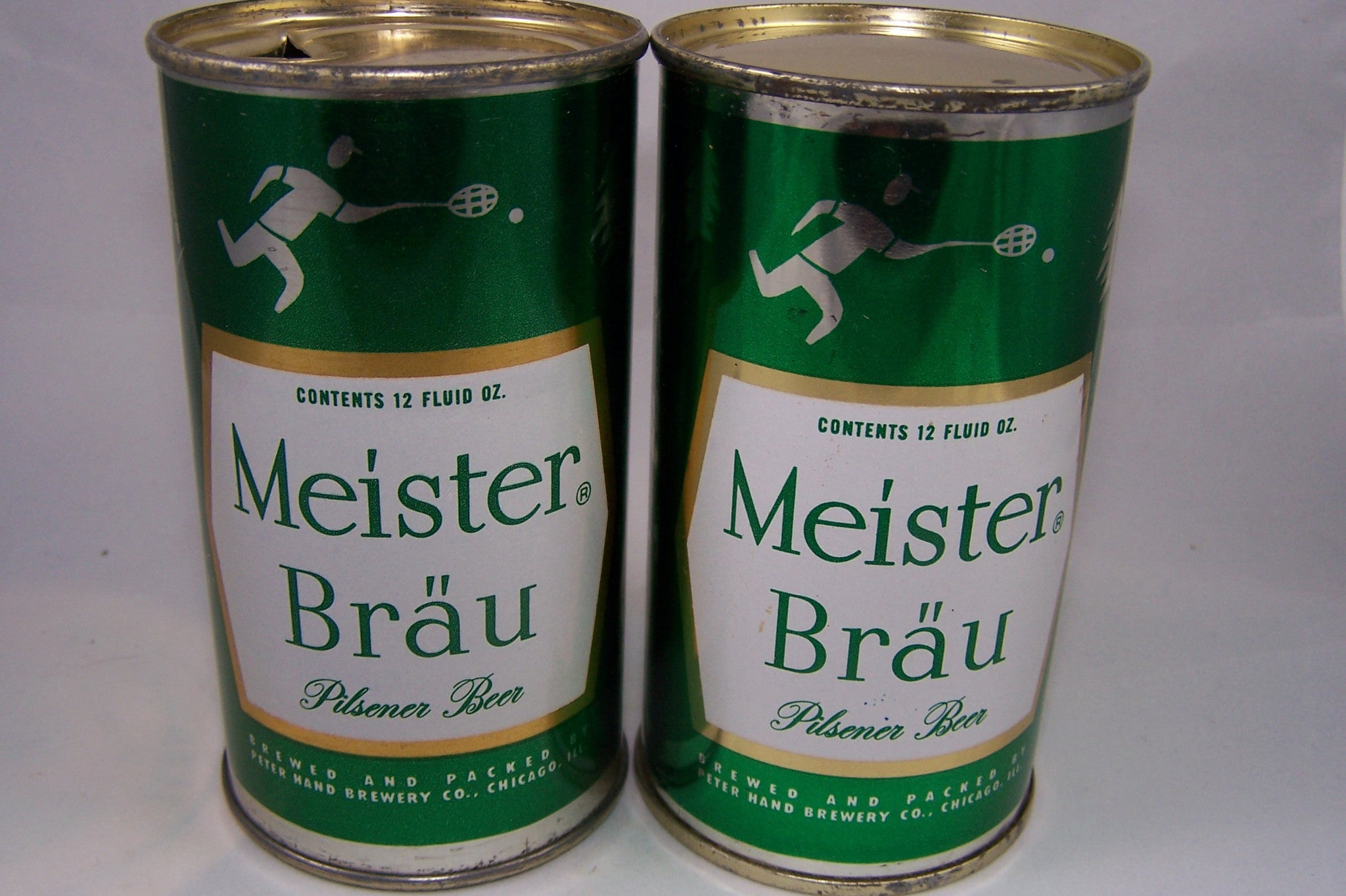 Meister Brau (Sports) Pilsener Beer (Metallic) USBC 95-38, Grade 1/1+ Sold on 9/28/15