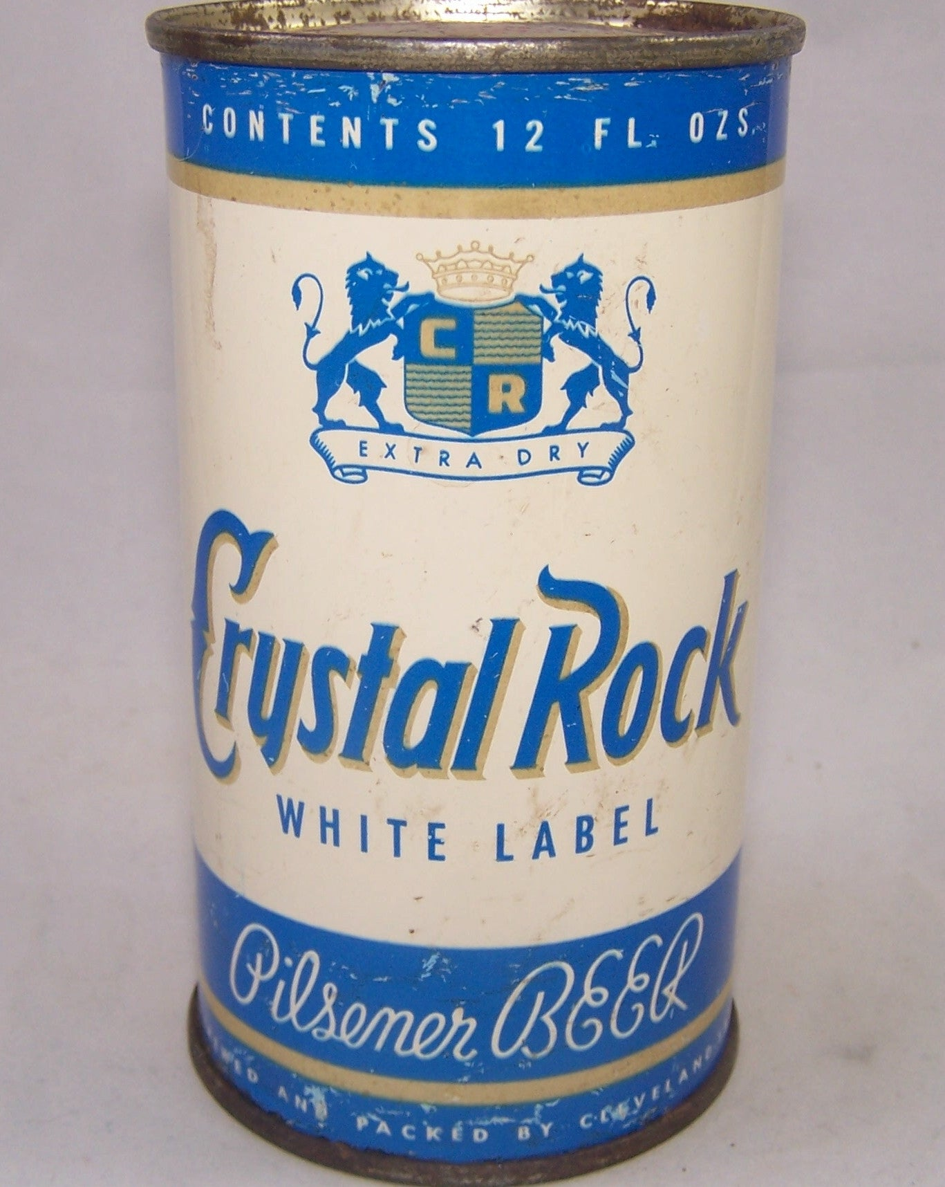 Crystal Rock White Label Beer, USBC 52-40, Grade 1-