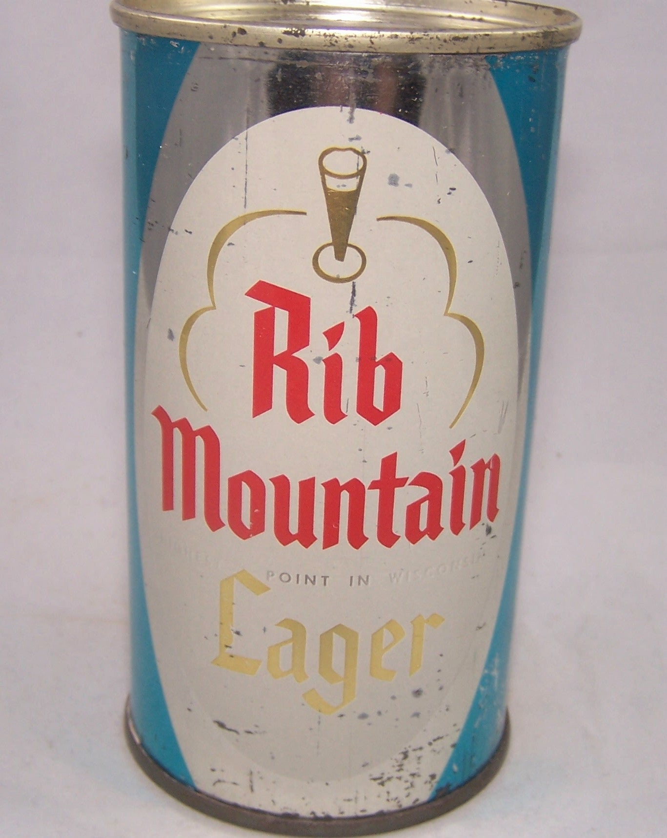 Rib Mountain Lager Beer, USBC 124-35, Grade 1- Sold on 03/22/17