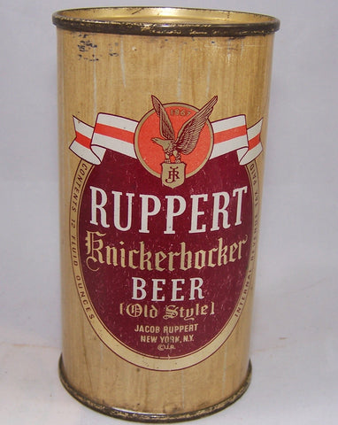 Ruppert Knickerbocker Beer,(Old Style) USBC 126-3, Grade 1-