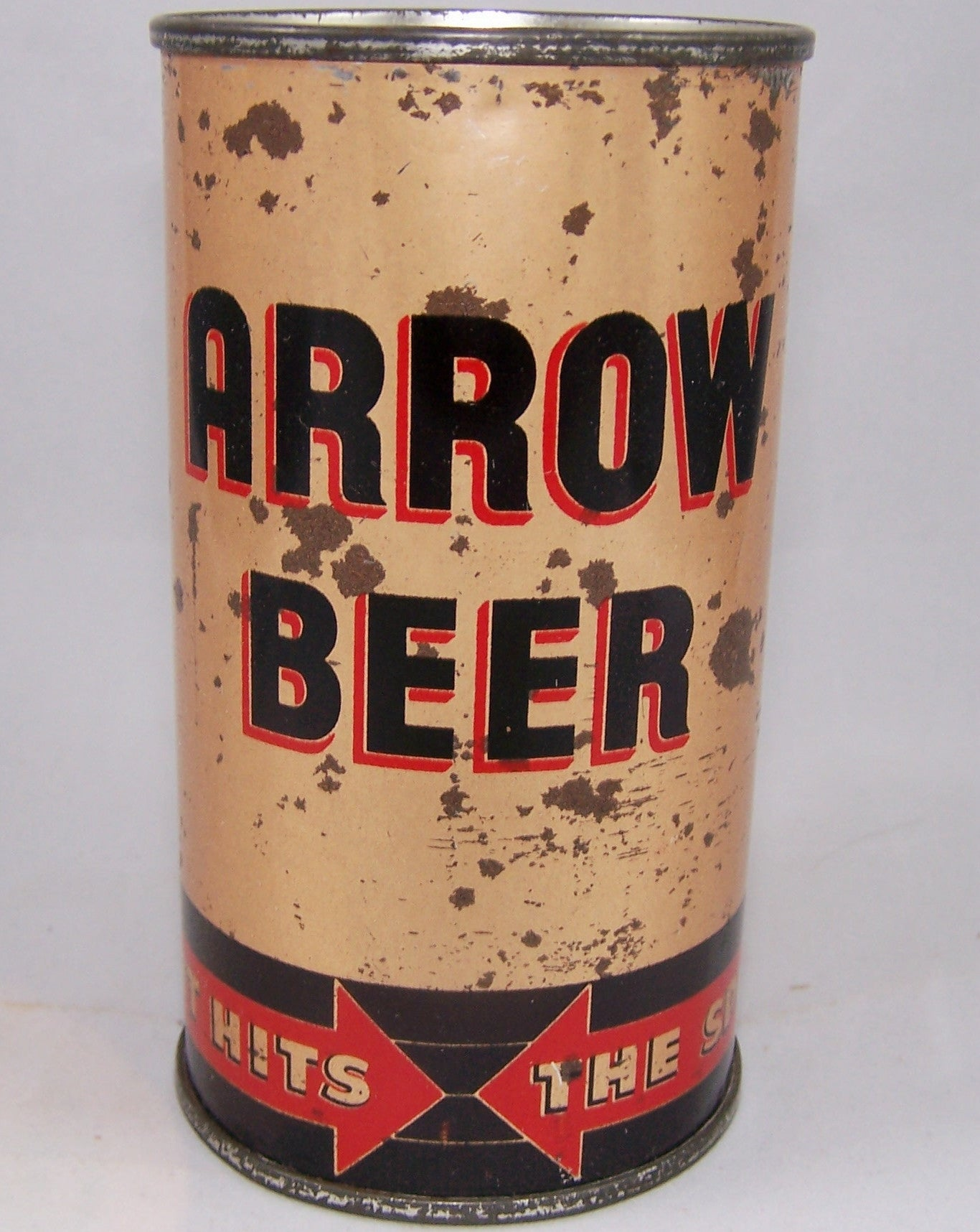 Arrow Beer (It Hits The Spot) Lilek # 46, Grade 2+ sold 2/13/16