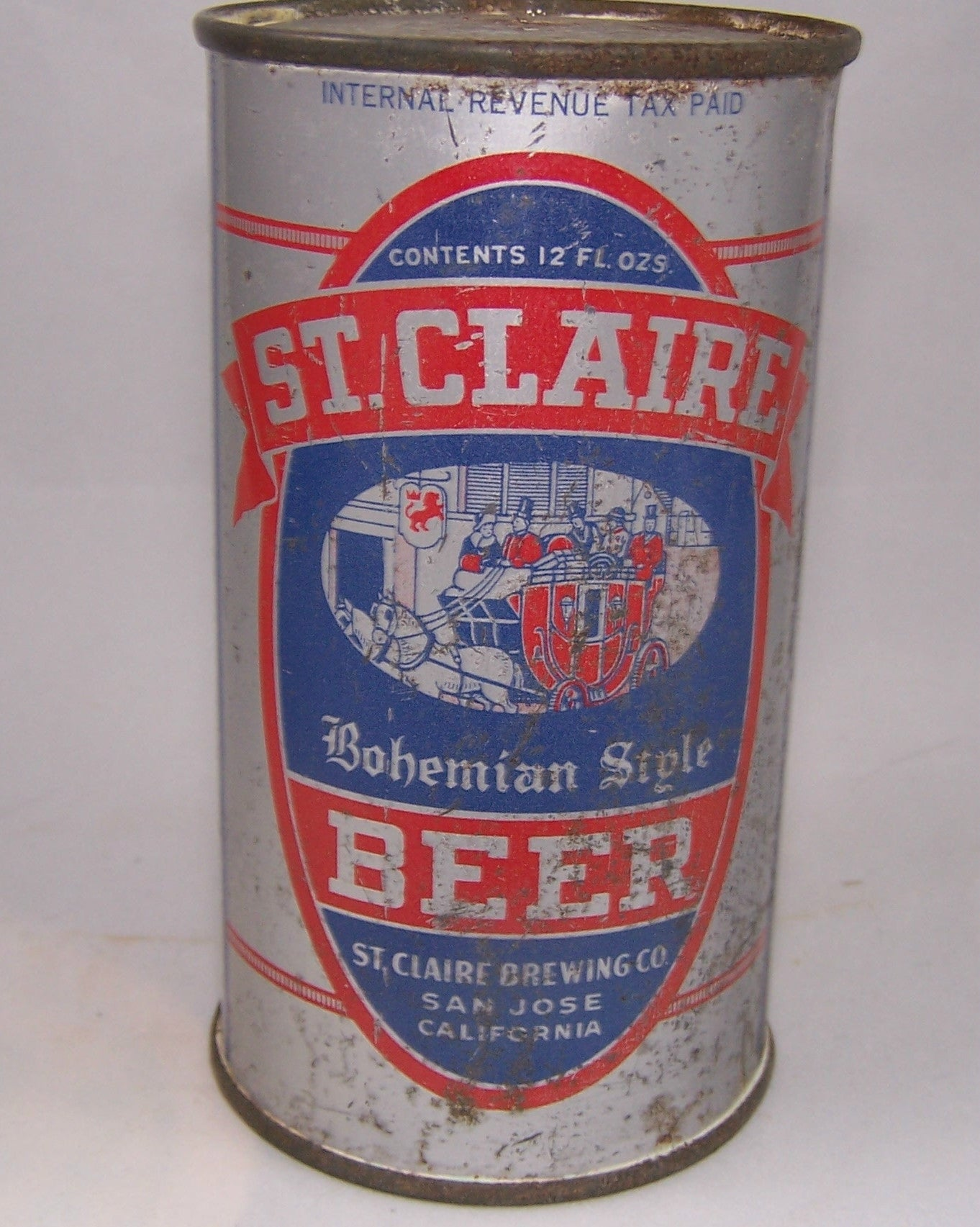 St. Claire Bohemian Style Beer, USBC 135-14, Grade 2/2+ Sold on 9/22/15