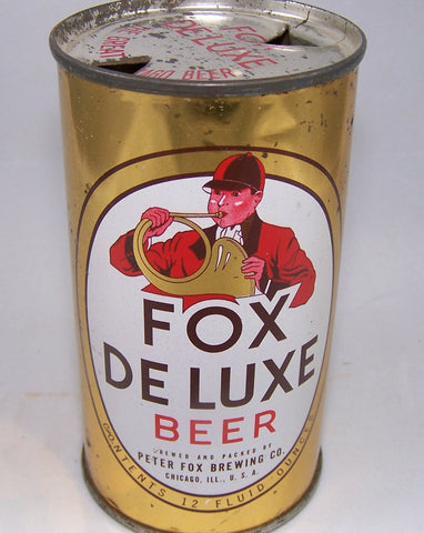 Fox Deluxe Beer (Chicago) USBC 65-7, Grade 1/1- Sold on 03/06/16