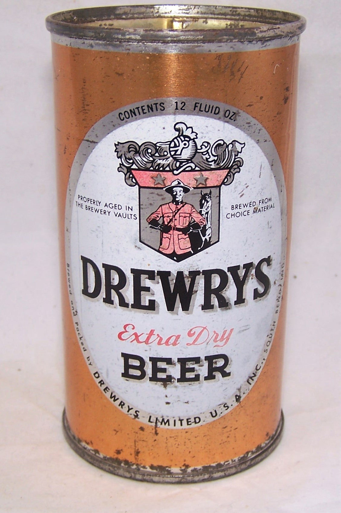 Drewrys Extra Dry (Sports Can), USBC N.L Grade 1-/2+