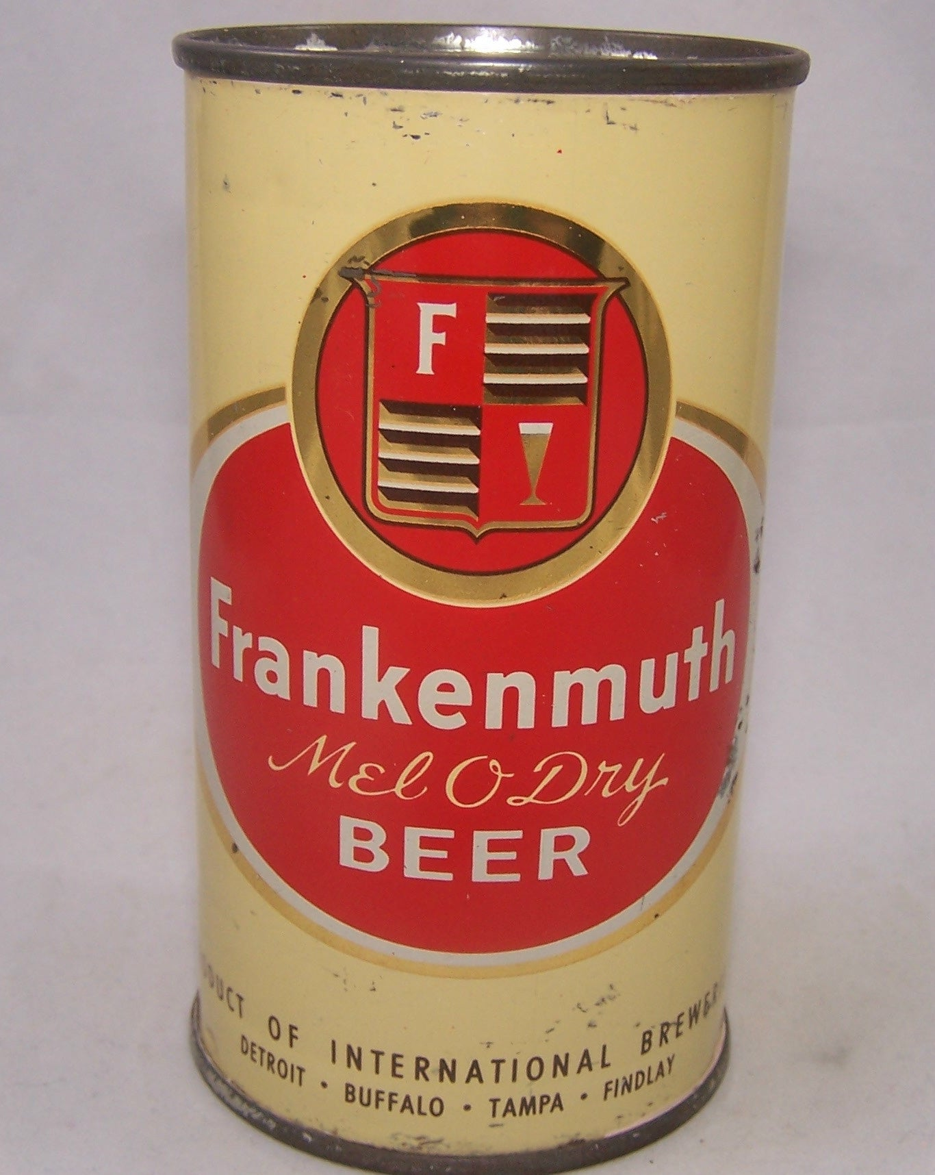 Frankenmuth Mel O Dry Beer, USBC 67-04, Grade 1- Sold on 07/27/18