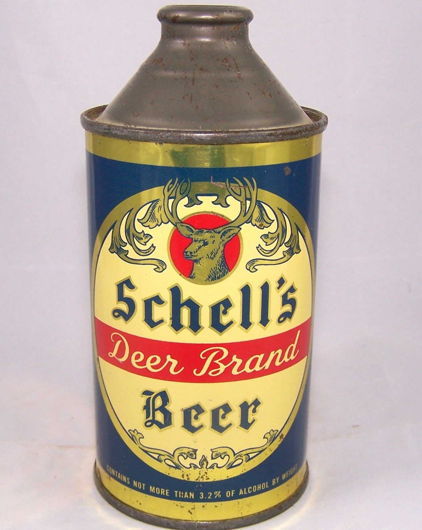 Schell's Deer Brand Beer, USBC 183-7, Grade 1 to 1/1+ Sold on 04/10/16