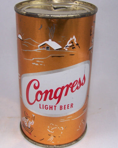 Congress Light Beer, (Hunting) USBC 50-26, Grade 1 to 1/1+ Sold 5/1/16