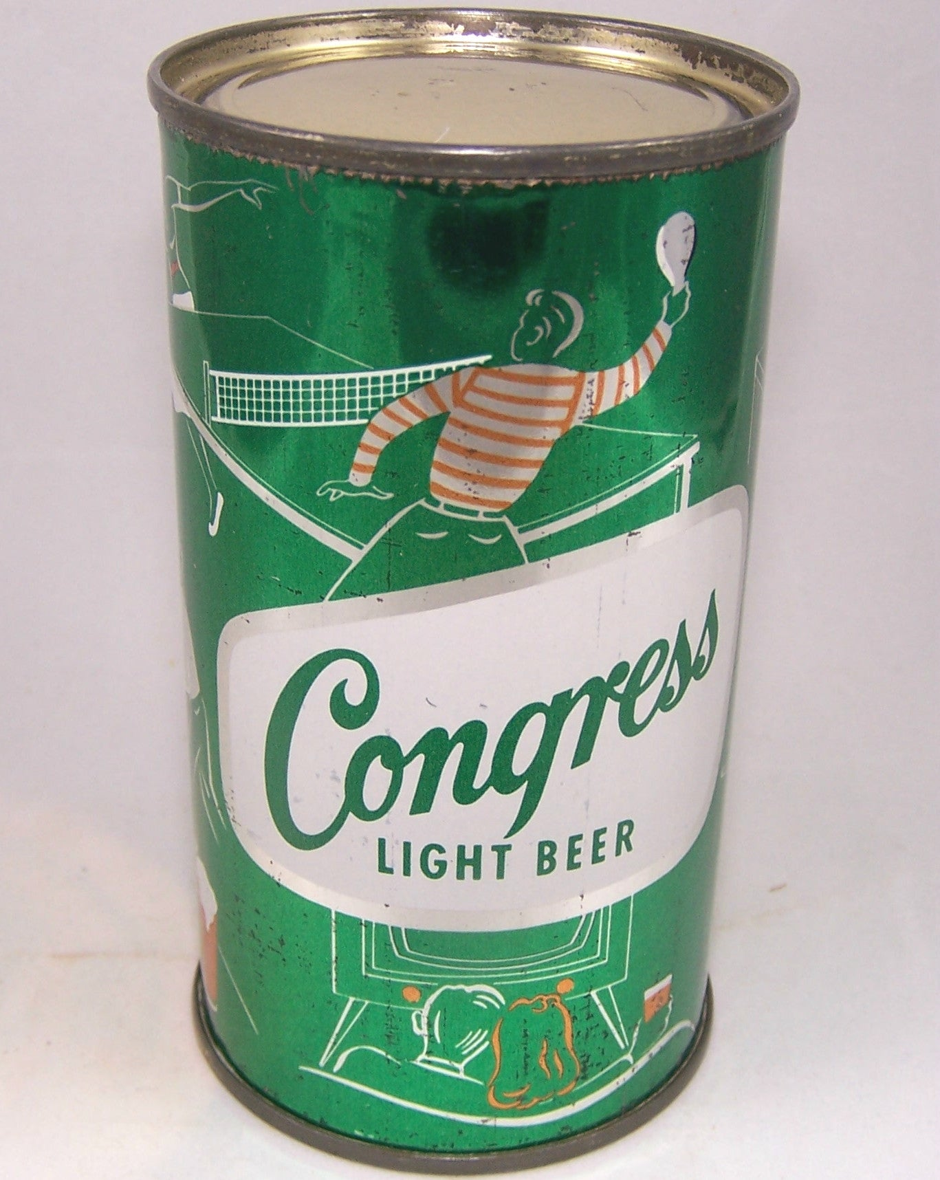 Congress Light Beer, (Table Tennis) USBC 50-36, Grade 1/1-