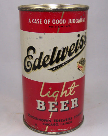 Edelweiss Light Beer ( A case of good Judgement) USBC 58-40, Grade 1/1-
