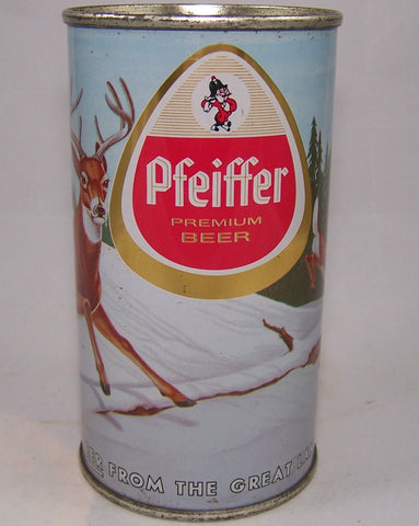 Pfeiffer (Metallic) Premium Beer, USBC 114-09, Grade 1/1+ Sold on 08/01/18