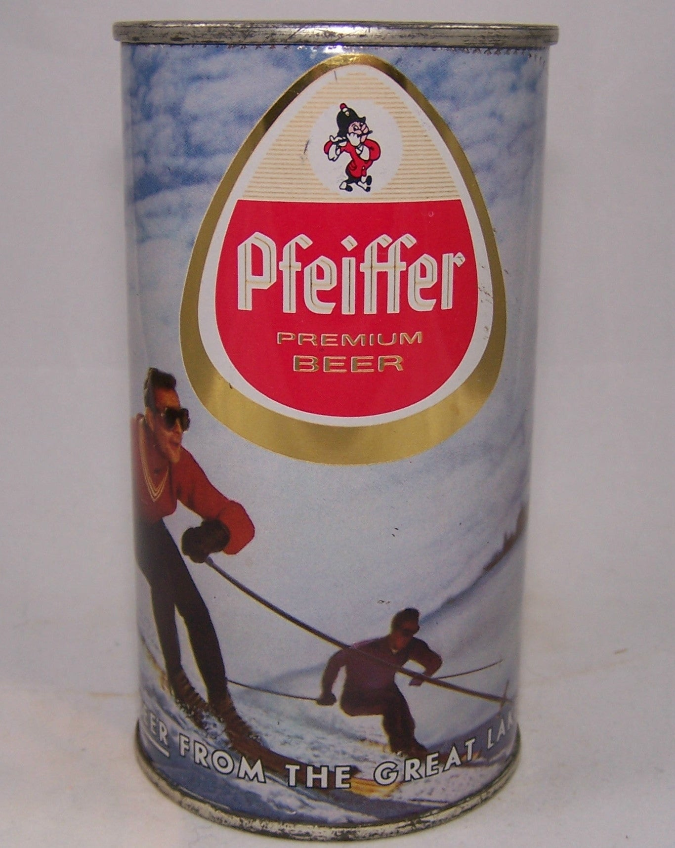 Pfeiffer (metallic) Premium Beer, USBC 114-13, Grade 1 Sold on 9/29/15