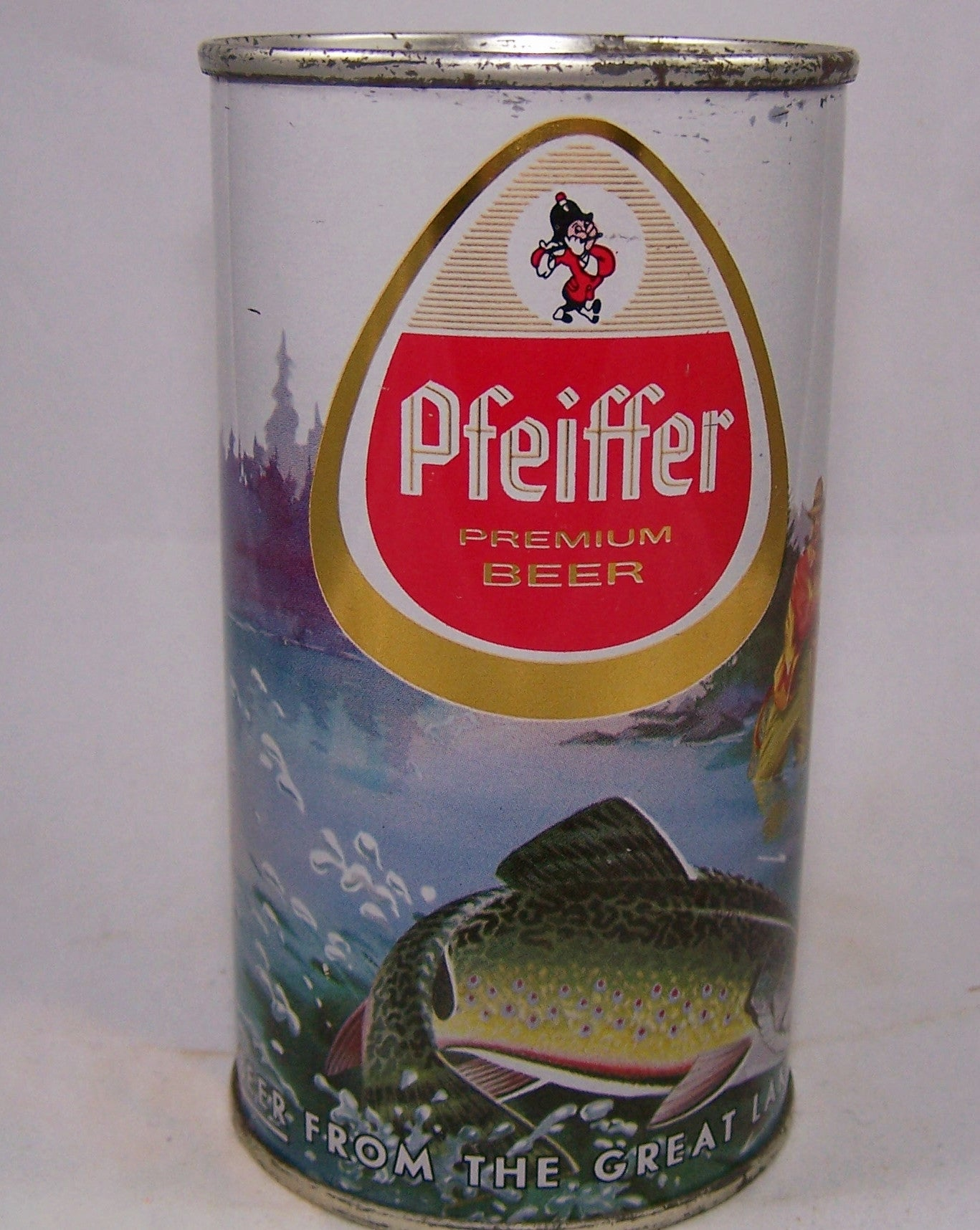 Pfeiffer (metallic) Premium Beer, USBC 114-14, Grade 1 to 1/1+ Sold on 01/13/16