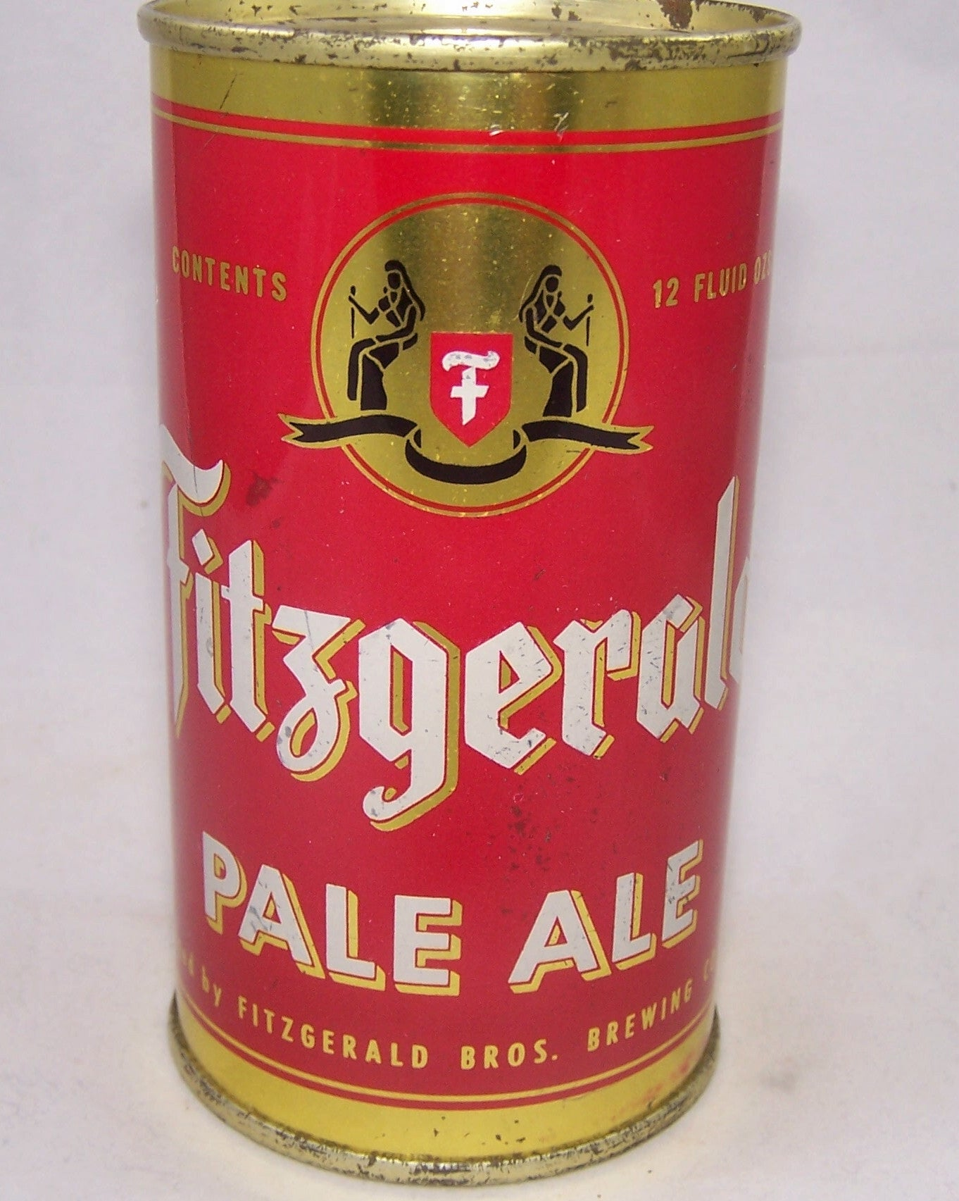Fitzgerald Pale Ale (Blue Shield) USBC 64-15, Grade 1 to 1/1+ Sold on 04/06/19