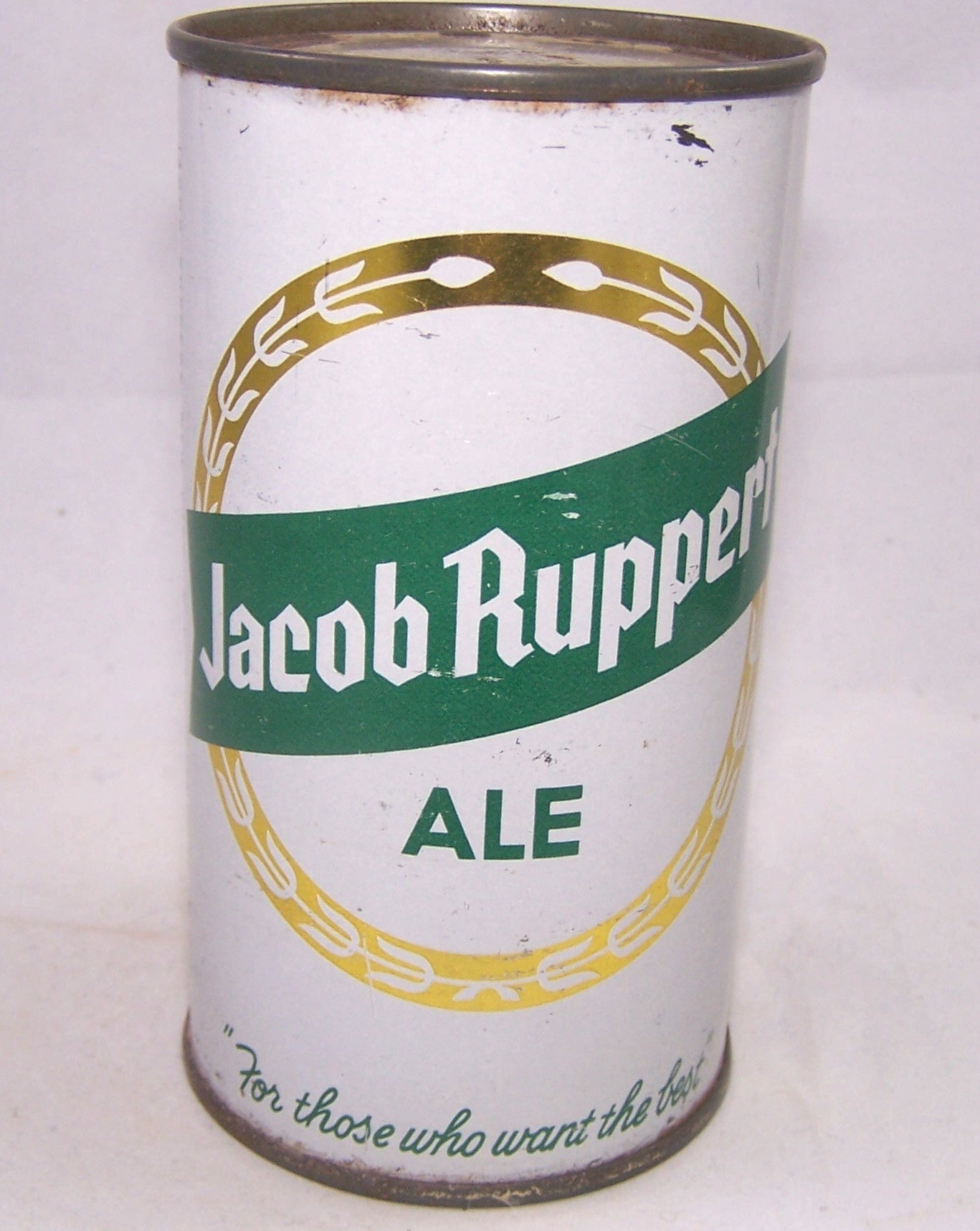 Jacob Ruppert Ale, USBC 125-38, Grade 1/1- Sold on 11/27/19