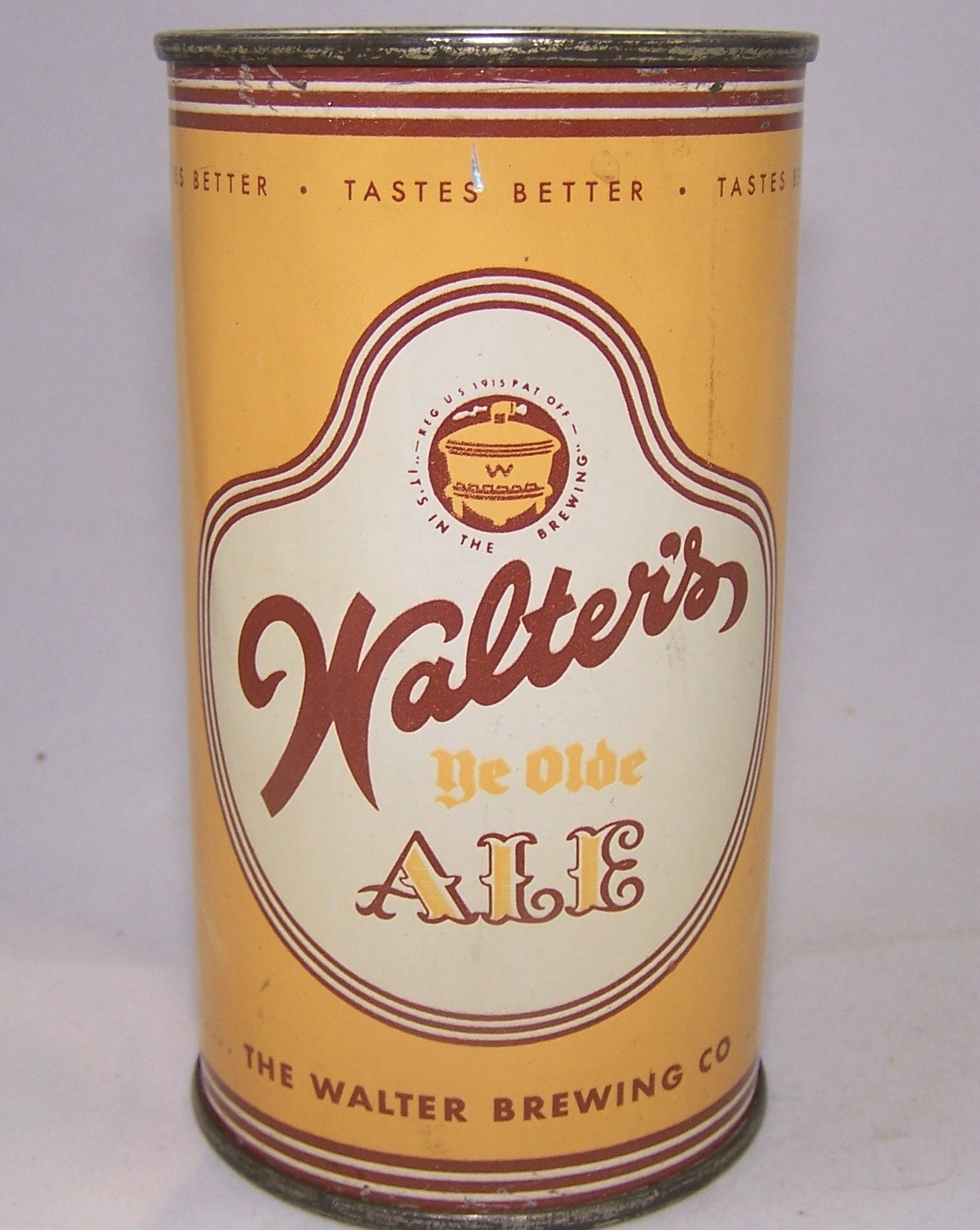 Walter's Ye Olde Ale, USBC 144-13, Grade 1 to 1/1+ Sold on 07/12/16