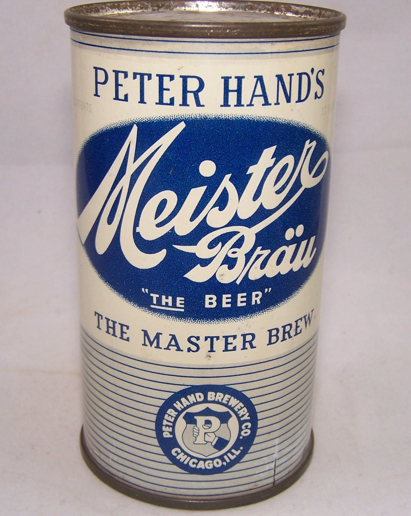 "Meister Brau ""The Beer"" IRTP, USBC 95-07, Grade 1 to 1/1+ Sold 2/08/18"