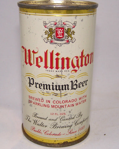 Wellington Premium Beer (Gold Trim) USBC 144-40, Grade 1- Sold on 09/05/16