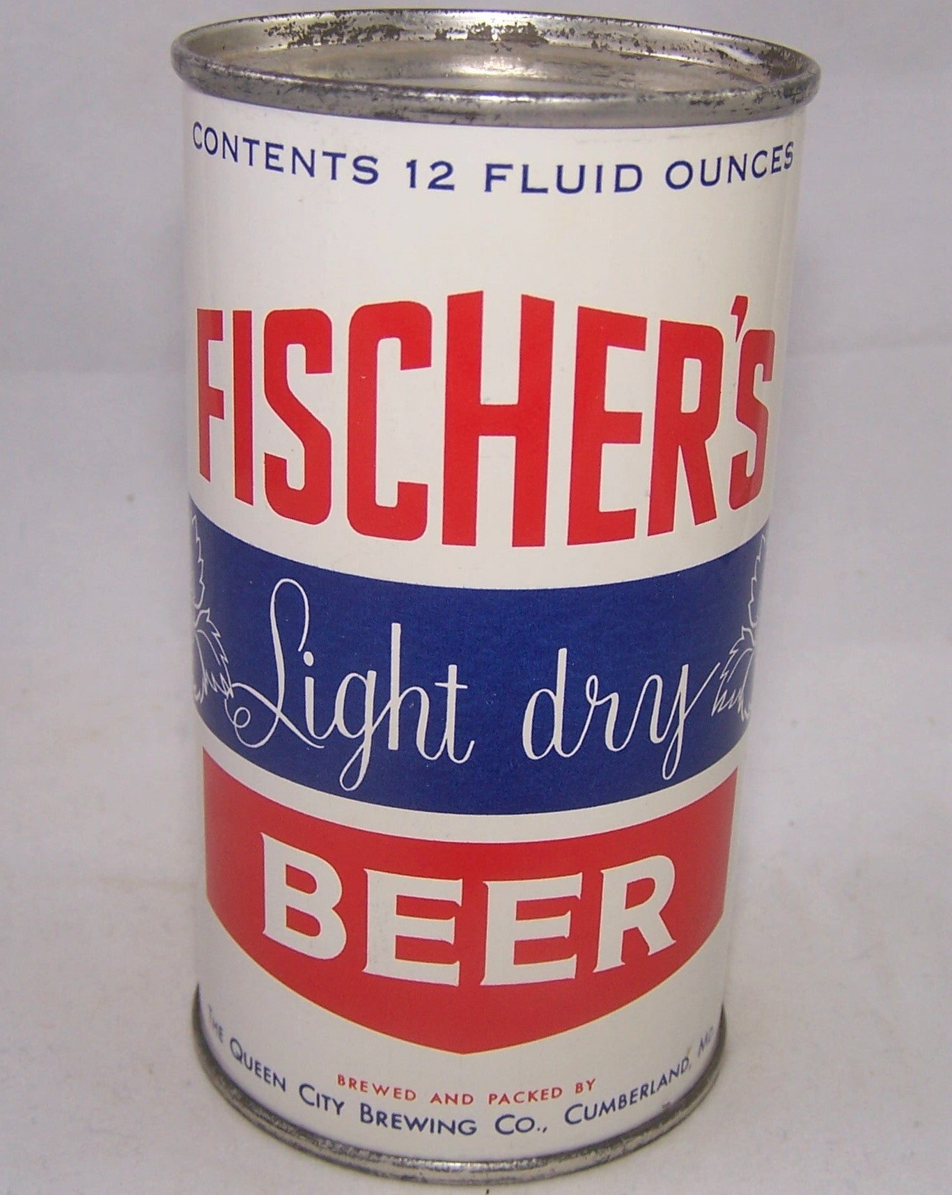 Fischer's Light Dry Beer, USBC 63-27, Grade A1+