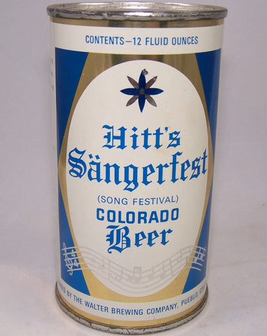 Hitt's Sangerfest Colorado Beer ROLLED, USBC 82-21, Grade 1/1+ Sold 1/16/16