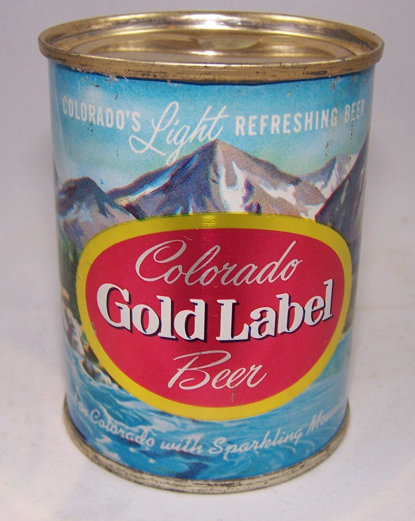 Colorado Gold Label Beer 8 ounce, USBC 241-27, Grade 1/1+ Sold on 10/20/15