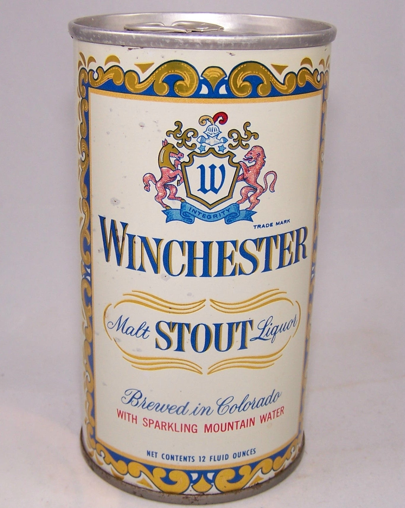 Winchester Stout Malt Liquor, USBC II 135-13, Grade 1 Sold on 06/15/16
