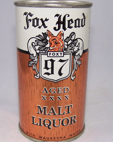 Fox Head 97 Aged Malt Liquor ROLLED, USBC 66-18, Grade 1- Sold on 02/23/17