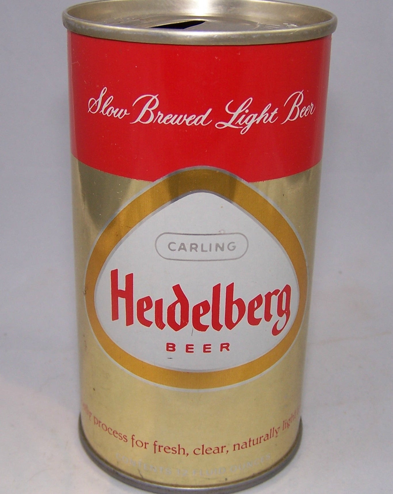Carling Heidelberg Beer, Metallic,  USBC N.L Like 75-11, Grade 1/1+ Sold